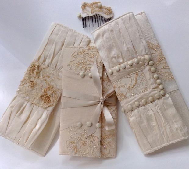 Custom Wedding Clutches